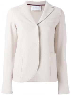 Пиджак с застежкой на две пуговицы Harris Wharf London. Цвет: телесный