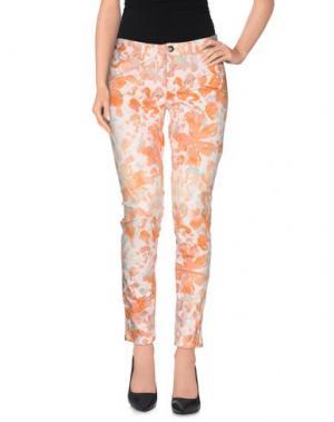 Повседневные брюки 0039 ITALY. Цвет: оранжевый