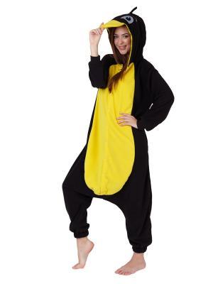 Комбинезон кигуруми Пингвин МАРНИ HandyWear. Цвет: черный, желтый