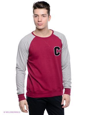 Джемпер CLWR. Цвет: темно-бордовый, малиновый