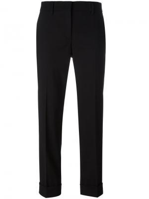 Укороченные брюки Prada. Цвет: чёрный
