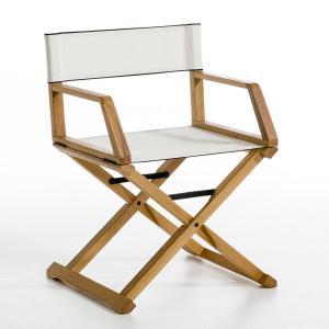 Кресло режиссерское Placido, E.Gallina AM.PM.. Цвет: черный,экрю