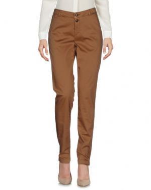 Повседневные брюки WOOLRICH. Цвет: верблюжий