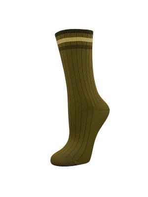Носки, 2 пары ГРАНД. Цвет: оливковый