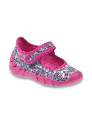Туфли Befado. Цвет: серый, розовый