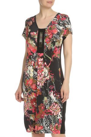 Платье Paola Joy. Цвет: розовый