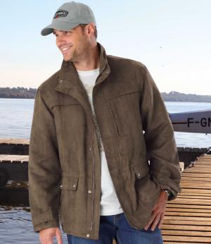 """Куртка """"Сафари"""" AFM. Цвет: коричневыи"""