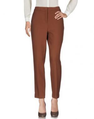 Повседневные брюки GOTHA. Цвет: коричневый