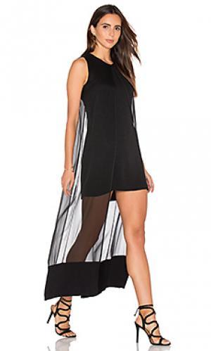 Платье franzi sen. Цвет: черный
