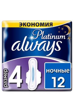 Гигиенические прокладки, 12 шт ALWAYS. Цвет: none