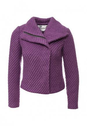 Куртка Tutto Bene. Цвет: фиолетовый