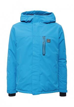 Куртка горнолыжная Billabong. Цвет: голубой