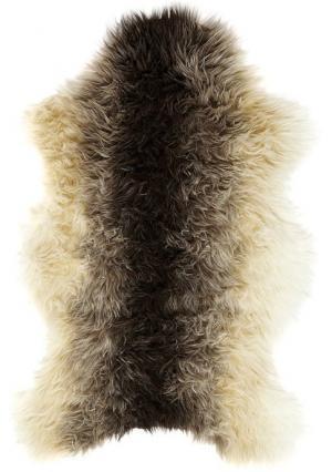 Декоративная шкура Heine Home. Цвет: цвет белой шерсти/коричневый