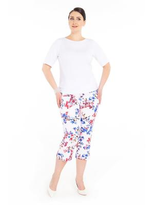 Капри Darissa Fashion. Цвет: белый