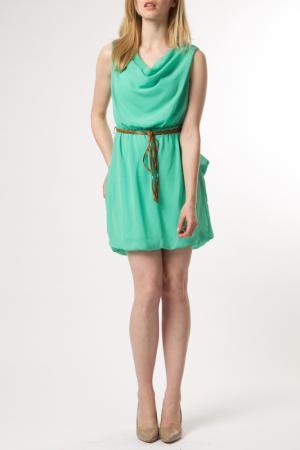 Платье ANABELLE. Цвет: зеленый