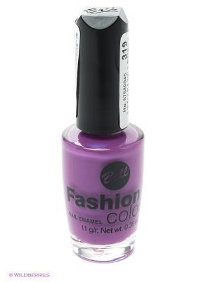 Устойчивый гипоаллергенный лак для ногтей Fashion Colour, тон 319 Bell. Цвет: фиолетовый