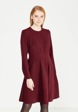 Платье Demurya Collection. Цвет: бордовый