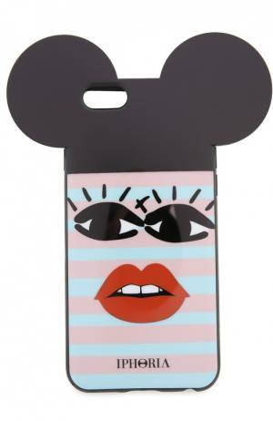 Чехол для iPhone 6 с декоративной отделкой Iphoria. Цвет: разноцветный