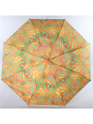 Зонт Trust. Цвет: оранжевый, желтый, салатовый