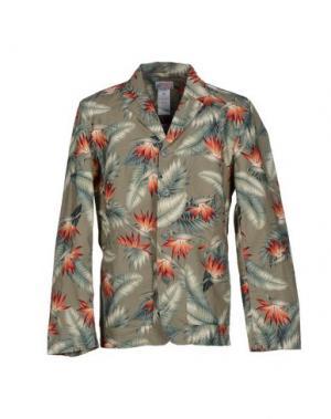 Пиджак GARBSTORE. Цвет: зеленый-милитари