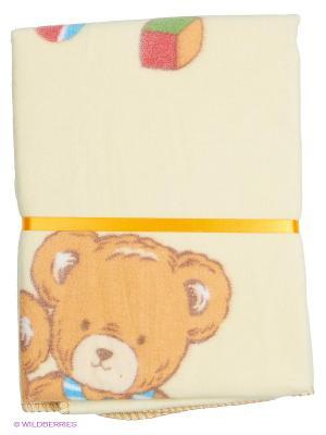 Одеяло Baby Nice. Цвет: желтый, бежевый