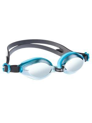Очки AQUA Mirror Mad Wave. Цвет: голубой