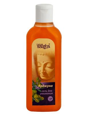 Гель для умывания Арджуна Aasha Herbals. Цвет: светло-оранжевый
