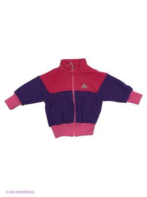 Толстовка ЛисФлис. Цвет: фиолетовый, розовый