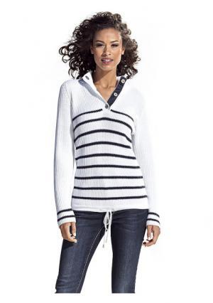 Пуловер B.C. BEST CONNECTIONS by Heine. Цвет: белый