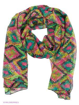 Парео текстильное Vittorio Richi. Цвет: зеленый, розовый