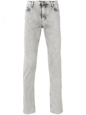 Облегающие джинсы Blk Dnm. Цвет: серый