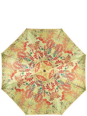 Зонт Eleganzza. Цвет: салатовый,коралловый,оранжевый,желтый