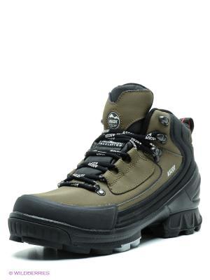 Ботинки Ascot. Цвет: хаки, черный