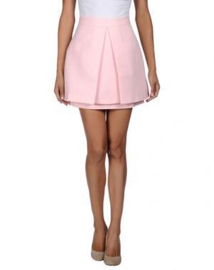 Мини-юбка CAMEO. Цвет: розовый