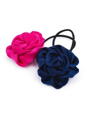 Резинки для волос девочек; 2 шт. в комплекте PlayToday. Цвет: темно-синий