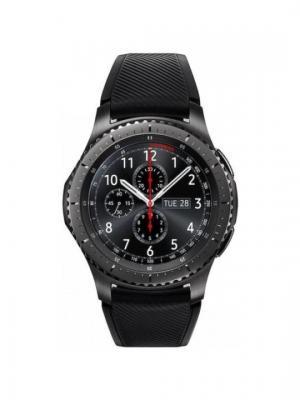 Смарт-часы Gear S3 Frontier SM-R760NDAASER, чёрный Samsung. Цвет: черный
