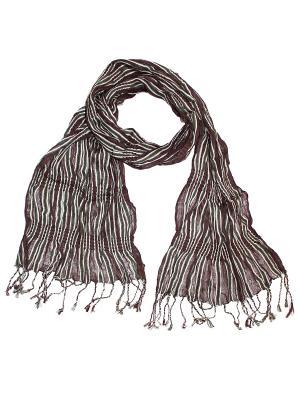 Платок Ethnica. Цвет: коричневый