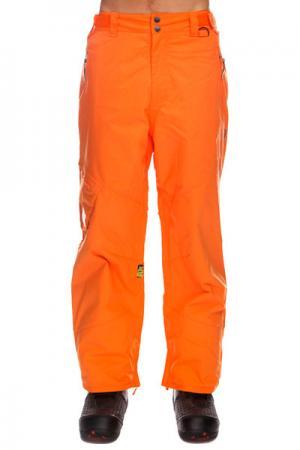 Штаны сноубордические  Skid Regular Hot Corral Apo. Цвет: оранжевый
