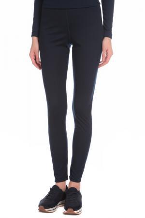 Утепленные облегающие брюки Stayer. Цвет: синий