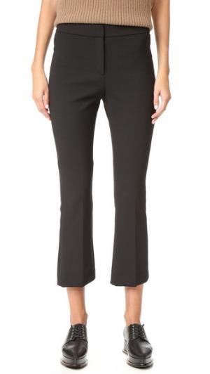 Укороченные расклешенные брюки Erstina Theory. Цвет: викунья