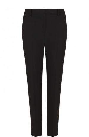 Укороченные однотонные брюки из хлопка M Missoni. Цвет: черный