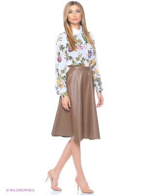 Блуза MARY MEA. Цвет: белый