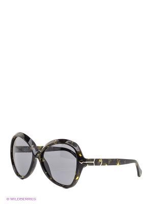 Солнцезащитные очки TM 524S 02 Opposit. Цвет: коричневый, желтый