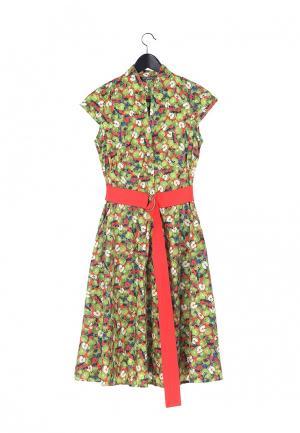 Платье Artwizard. Цвет: зеленый