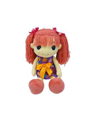 Кукла стильняшка с розовыми волосами, 25 см (MT-HH-R9068E3) MAXITOYS. Цвет: розовый, бежевый, оранжевый