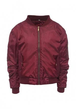 Куртка Edge Street. Цвет: бордовый