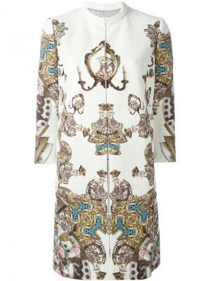 Платье с принтом Antonio Marras. Цвет: телесный