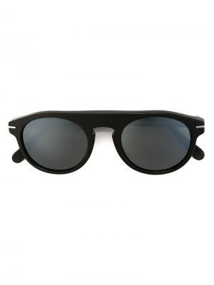 Солнцезащитные очки в круглой оправе Retrosuperfuture. Цвет: чёрный