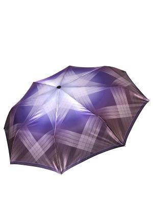 Зонт Fabretti. Цвет: бежевый, синий
