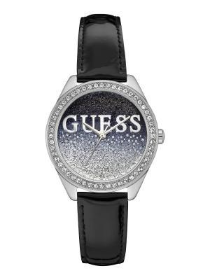 Часы GUESS. Цвет: серебристый, черный